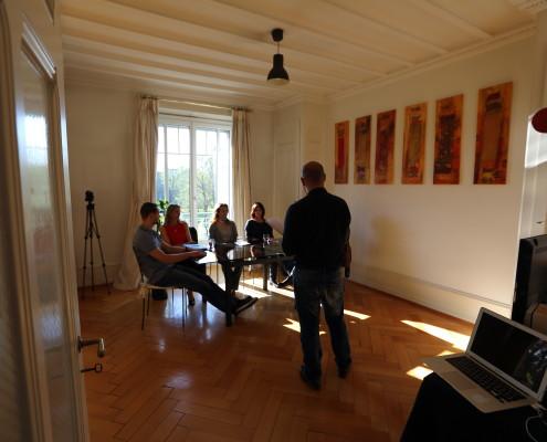 Parler en public avec le Beauparleur, Swissnova, la Manufacture de Lausanne, le CRPM, André Schmidt à Genève et dans la région